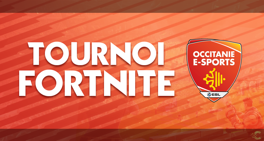 TournoiFOrtnite occitanie esports