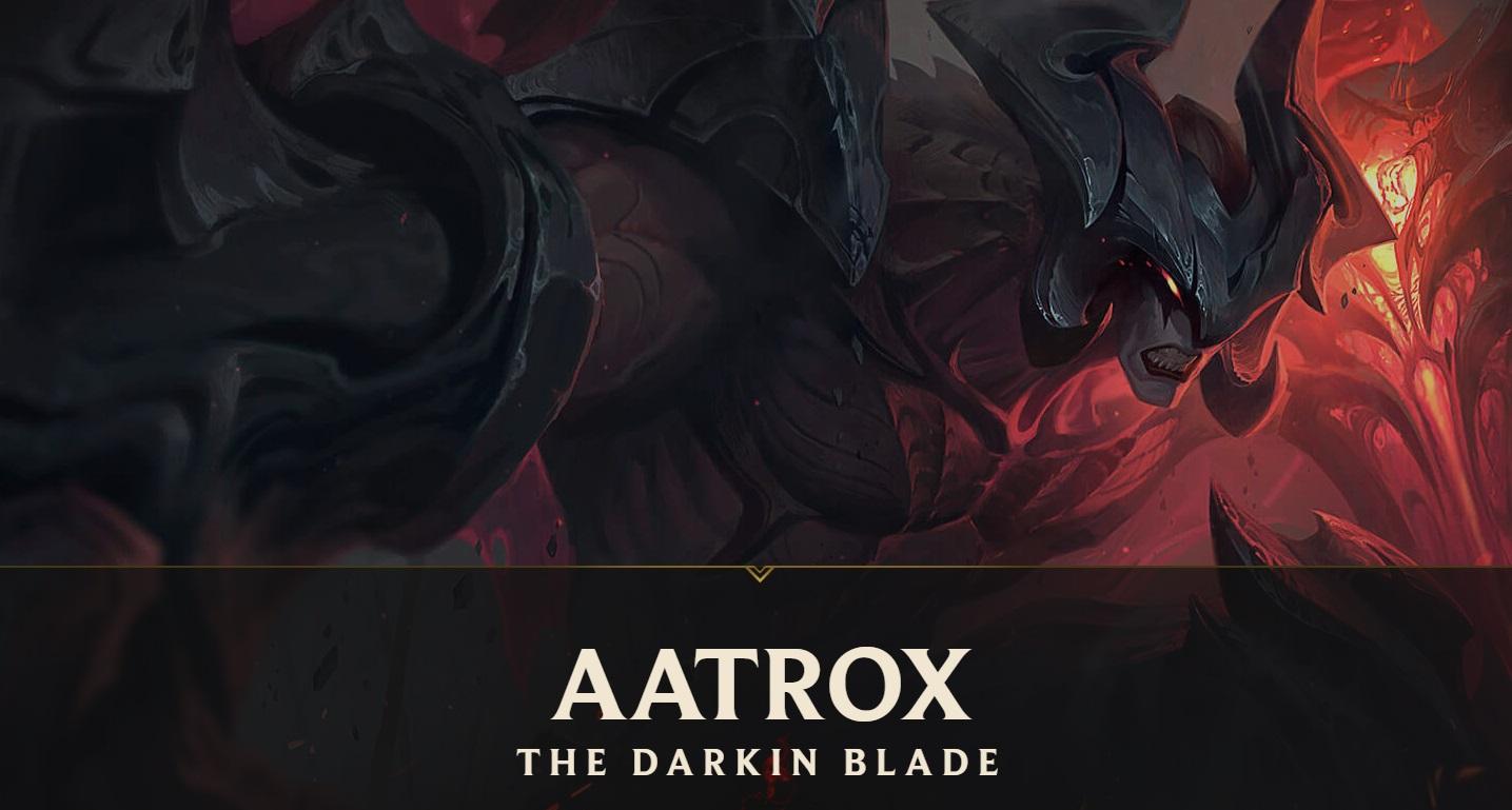 Aatrox l'épée des Darkin
