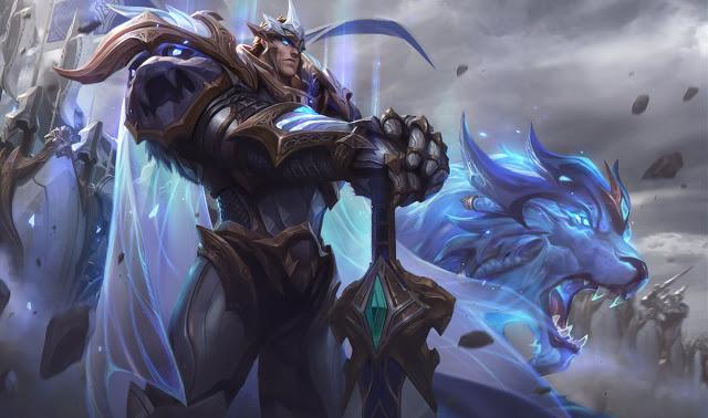 splash art god-king garen