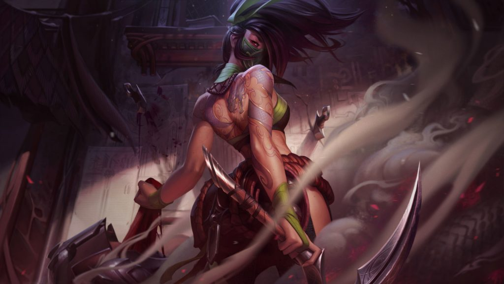 artwork akali rework