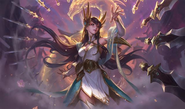 divine sword Irelia patch 8.17