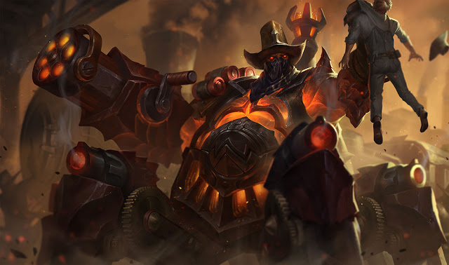 high noon urgot patch 8.17