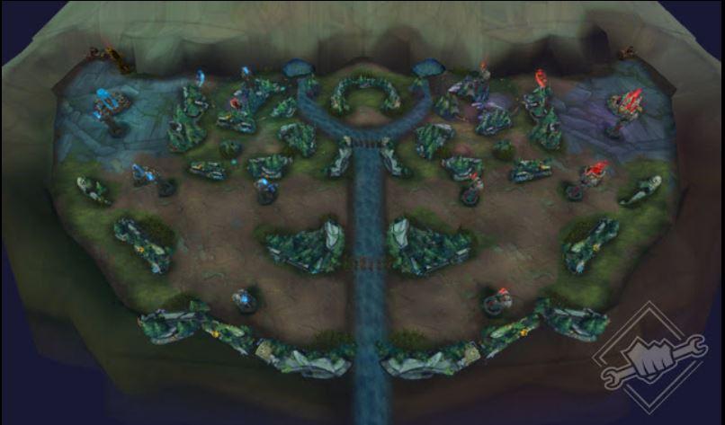 map nexus blitz