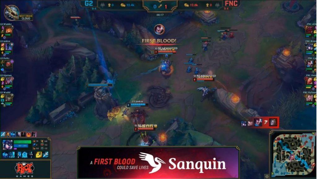 sanquin live first blood