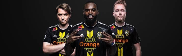 Team Vitality Orange
