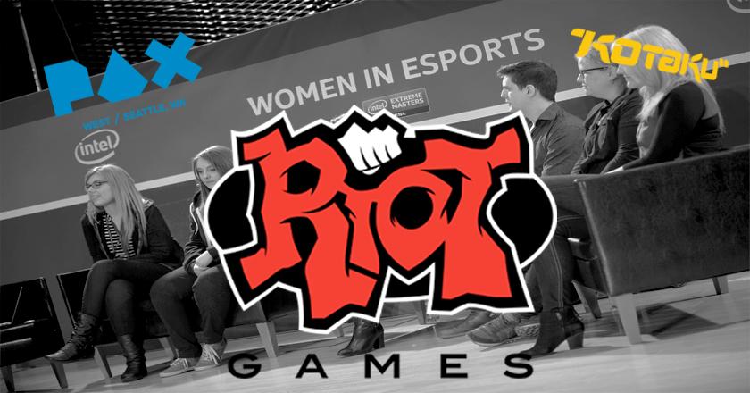 riot games esport mixité