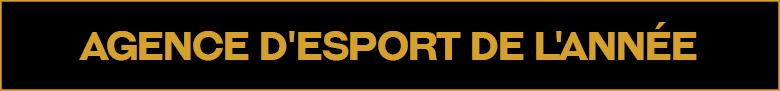 Agence d'esport de l'année
