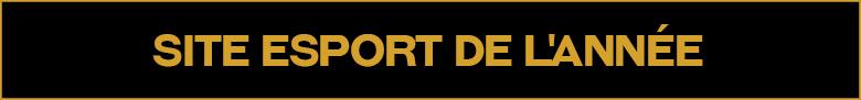 Site esport de l'année