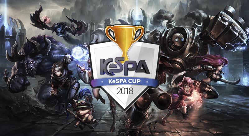 kespa cup 2018 image à la une