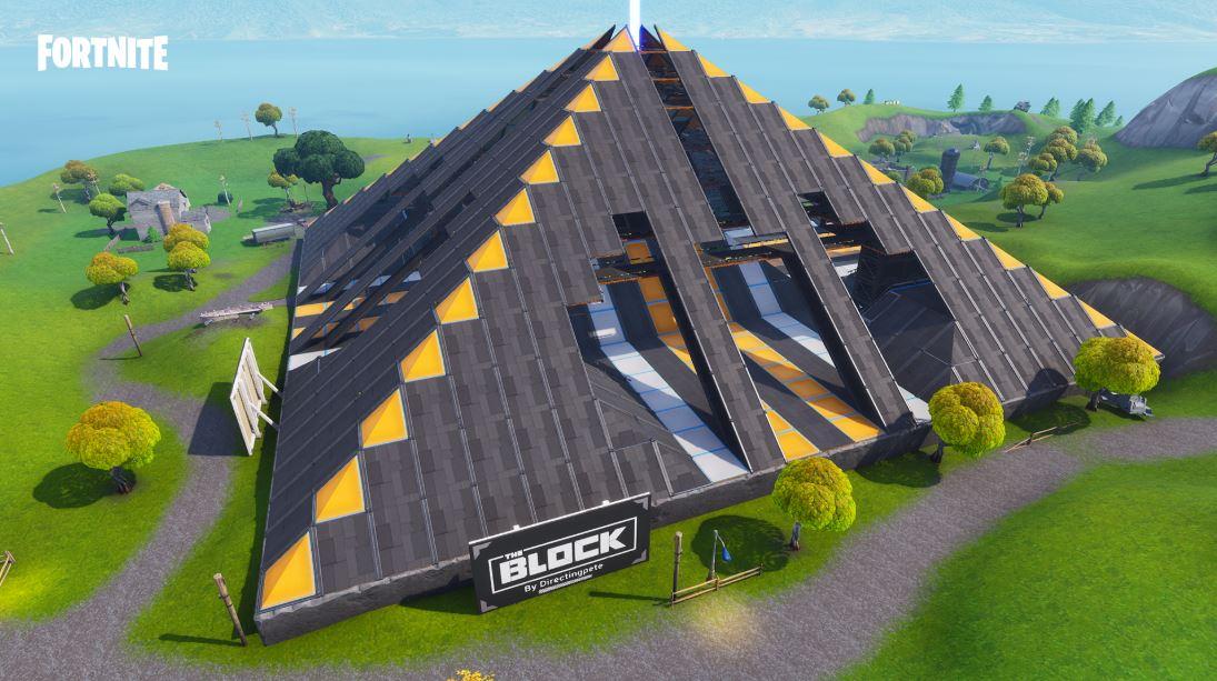bloc pyramide patch 7.20 de fortnite