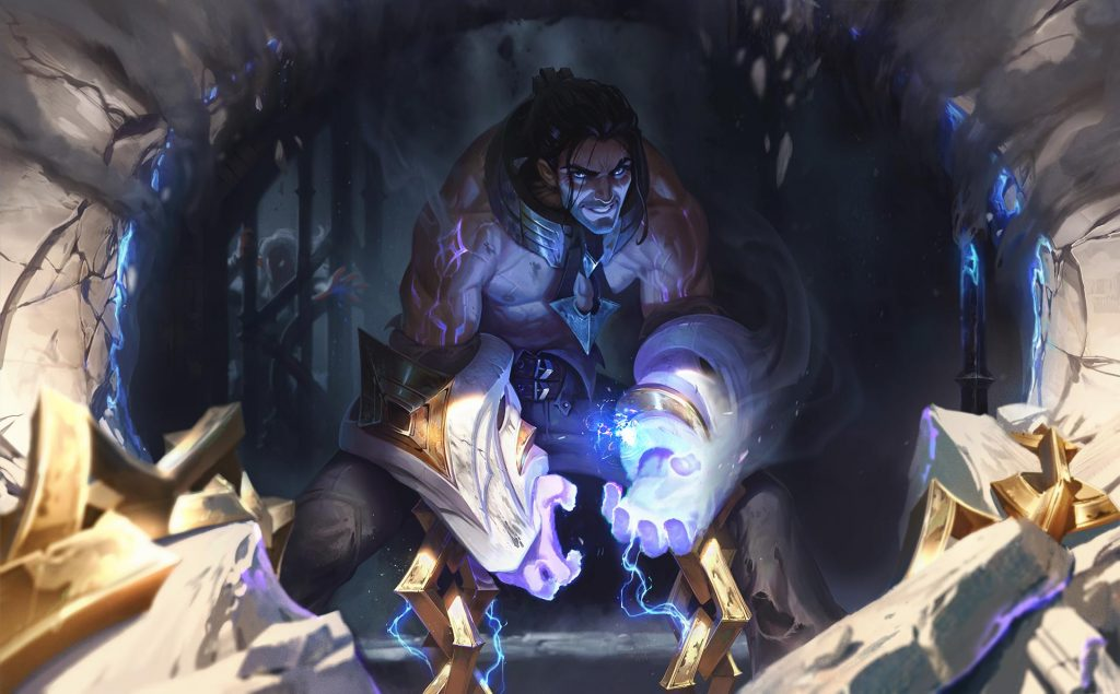 Sylas splash art