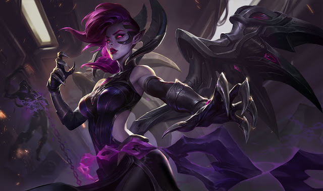 morgana lame sinistre
