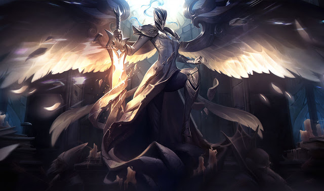 silver kayle splash art