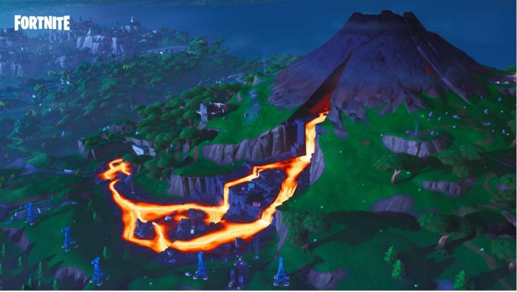 volcan fortnite saison 8
