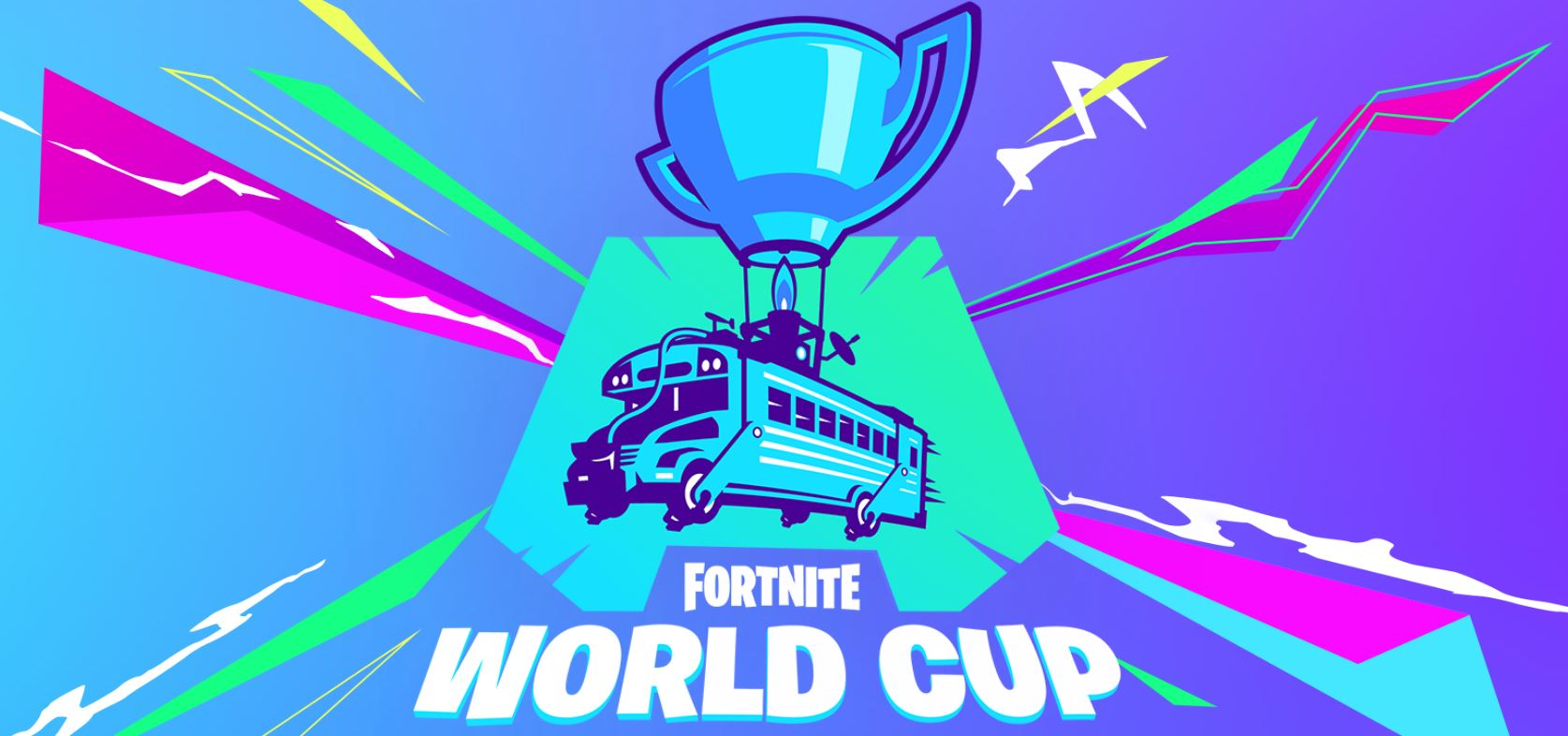 fortnite world cup logo