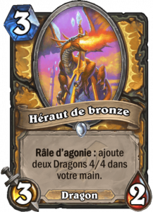 héraut de bronze