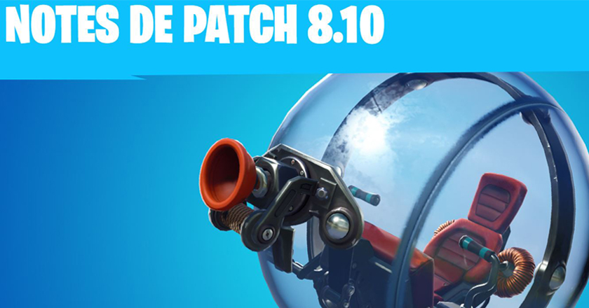 patch 8.10 fortnite