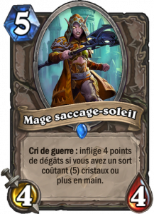 Mage saccage-soleil