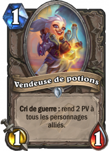 vendeuse de potions