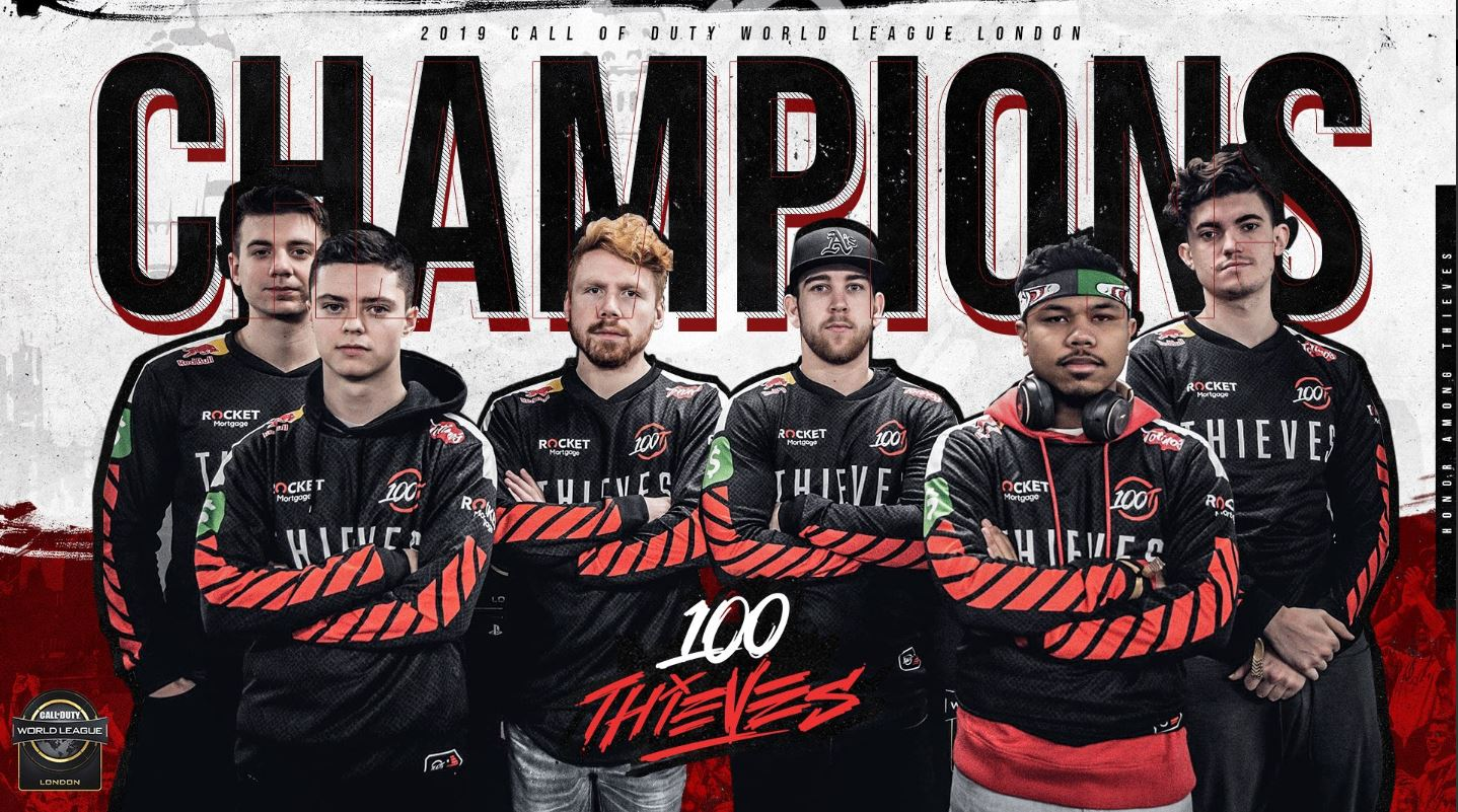 100 thieves cwl londres