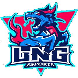 Logo de l'équipe LNG Esports
