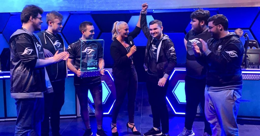 team secret allied esports vegas 2019
