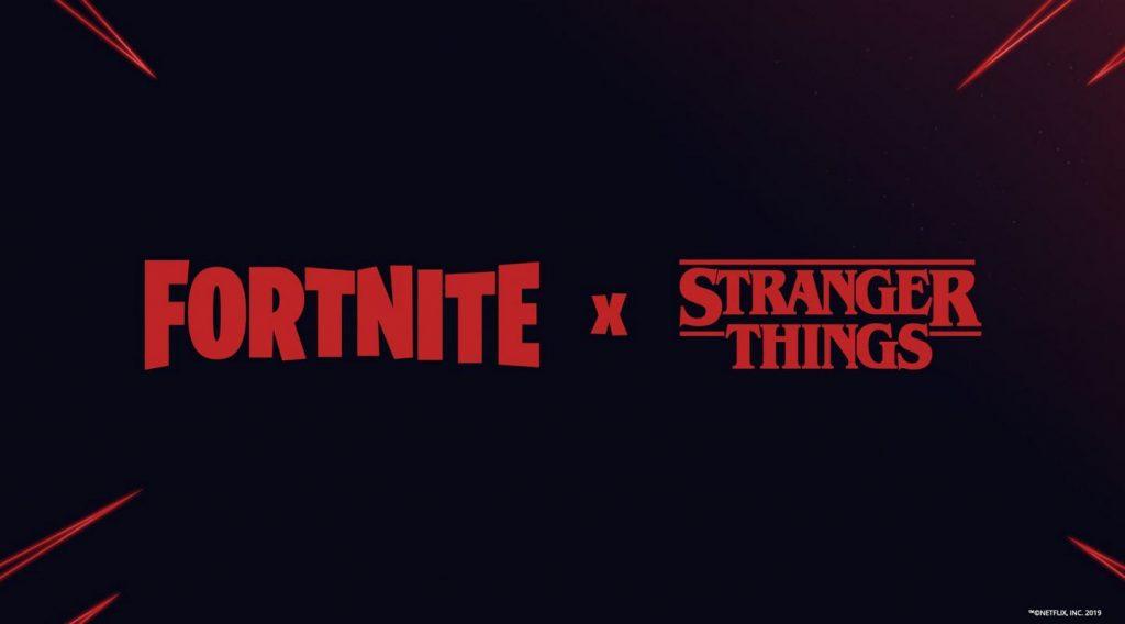 fortnite x stranger things