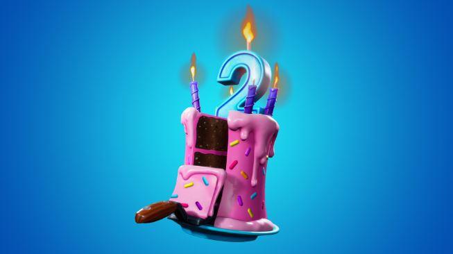 gâteau d'anniversaire fortnite