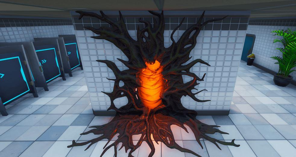 portail stranger things fortnite