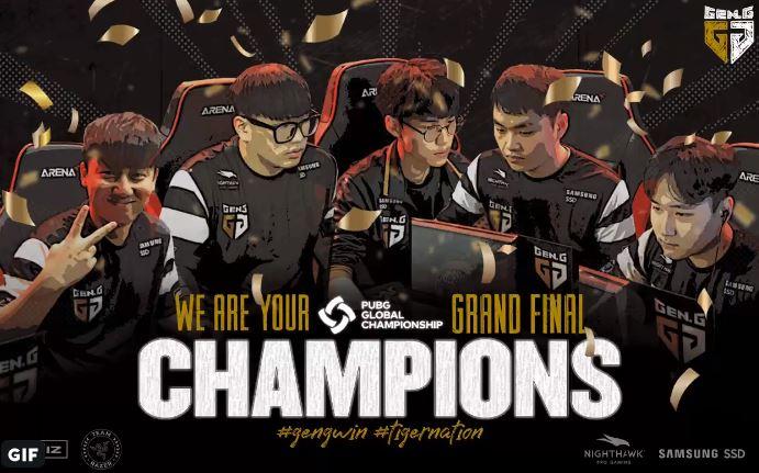 gen.g pubg global championship
