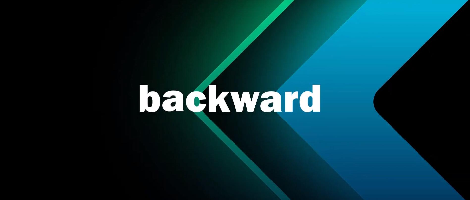 backward image à la une