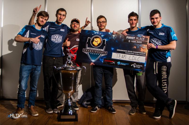 team ldlc victoire Dreamhack