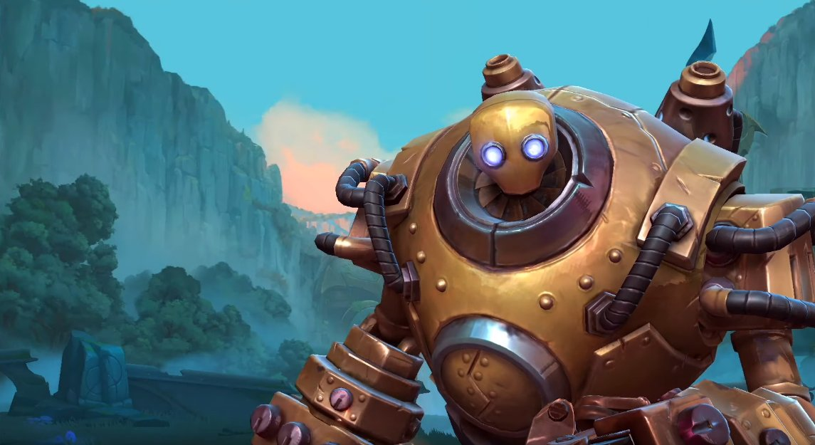 blitzcrank league of legends wild rift