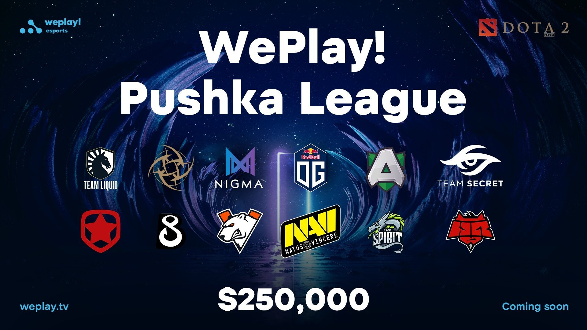 we play! pushka league