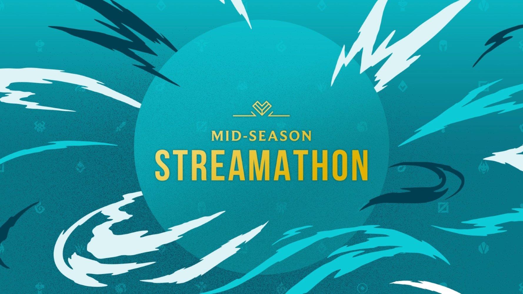 MSStreamathon riot games