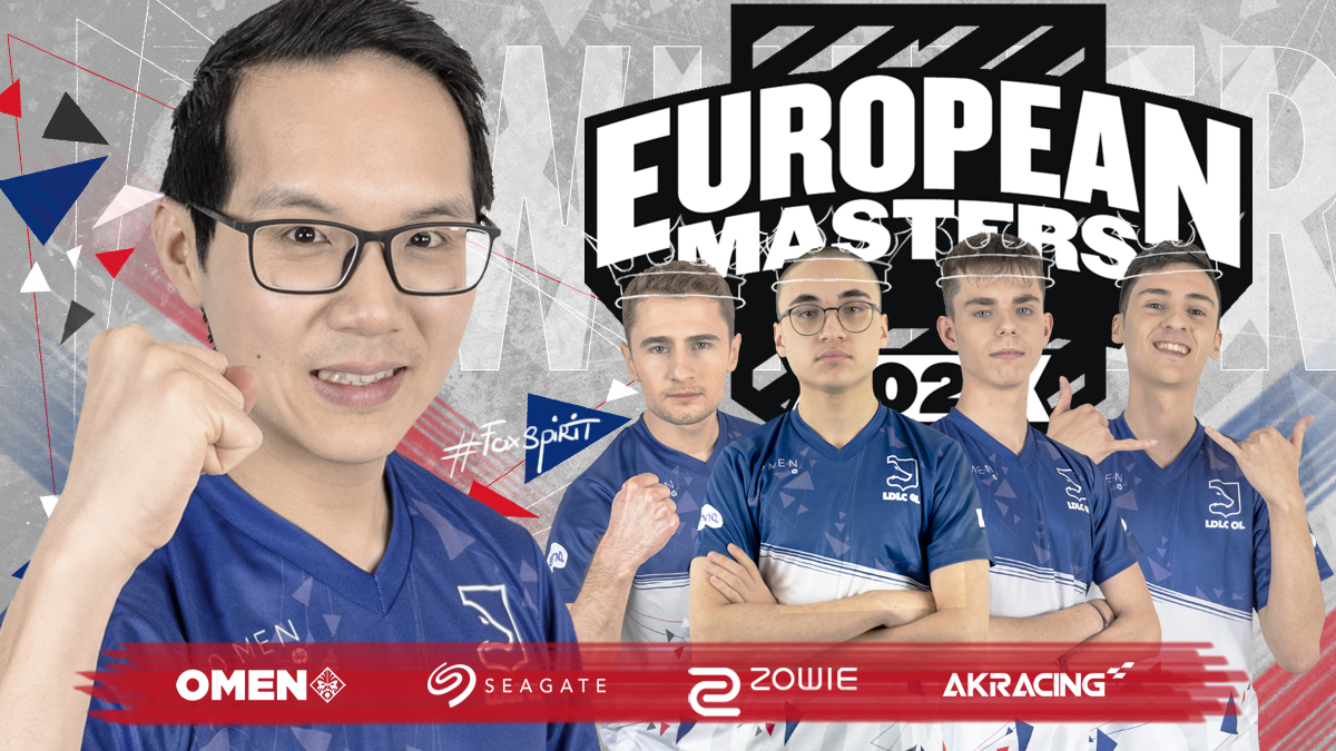 ldlc ol remporte les european masters 2020