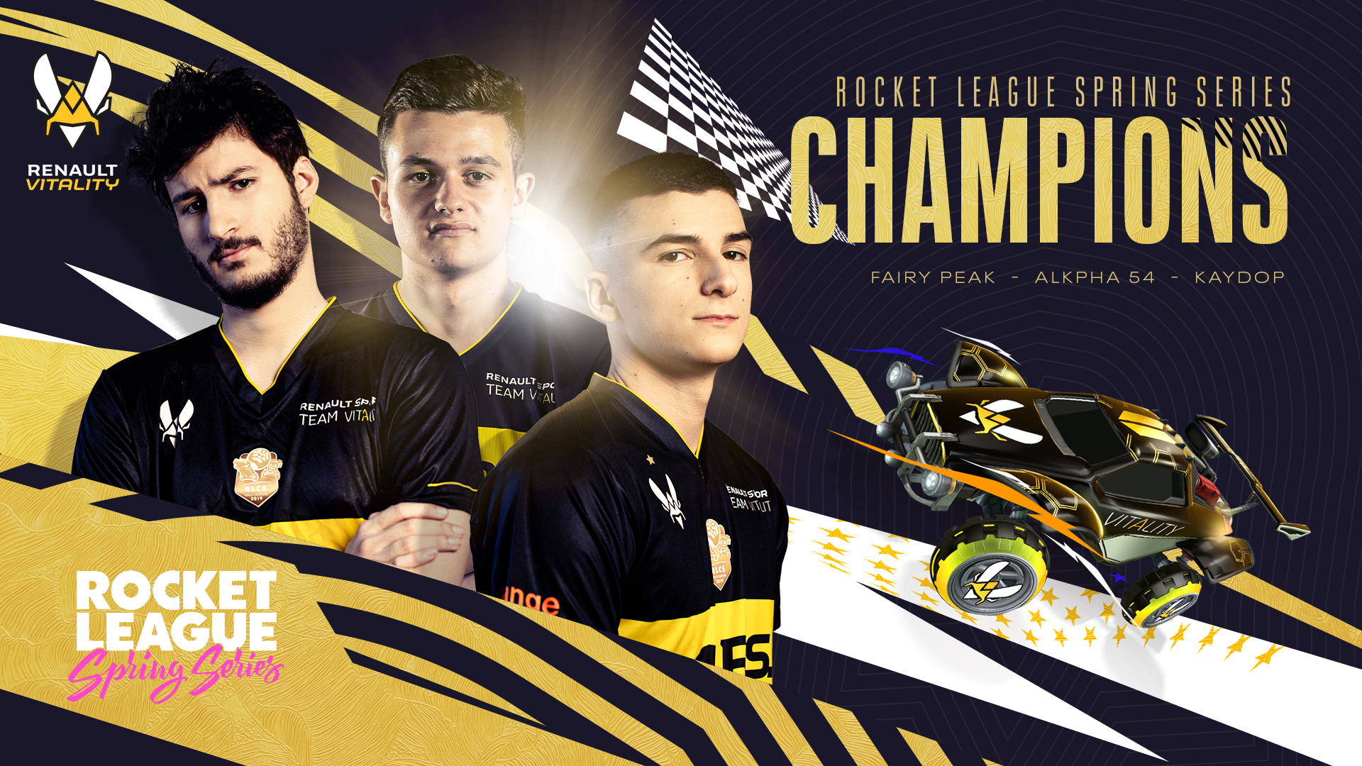 renault vitality rocket league spring series