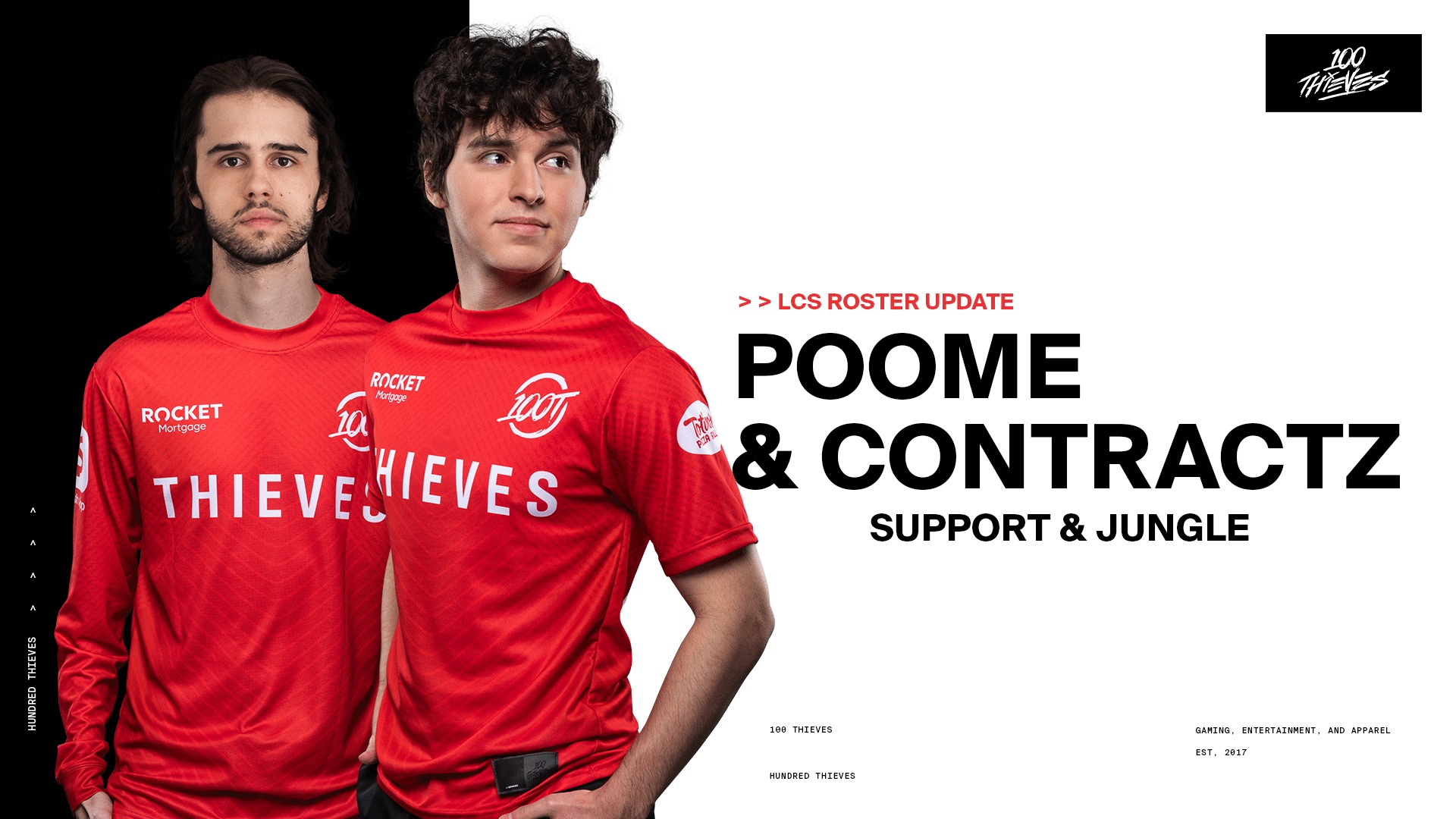 100 thieves poome et contractz