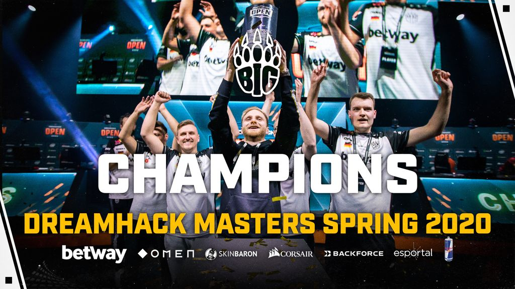 big dreamhack masters spring 2020