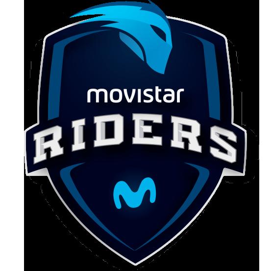 Logo de l'équipe Movistar Riders