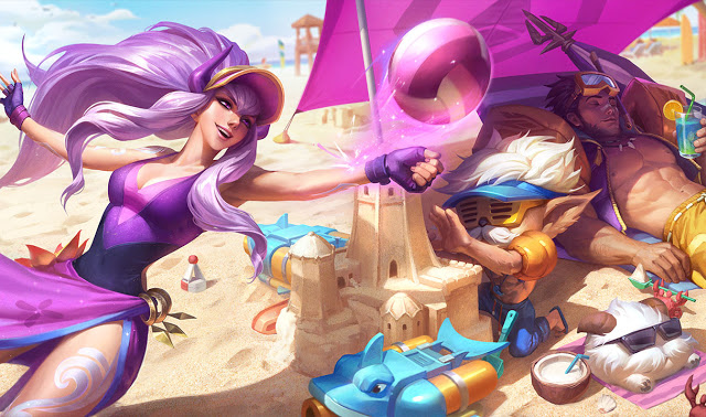 pool party heimerdinger jarvan et syndra