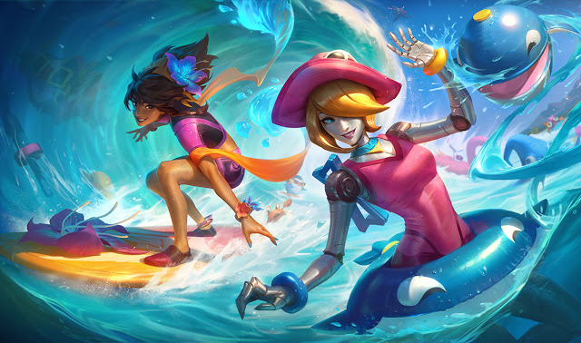 pool party orianna pool party taliyah