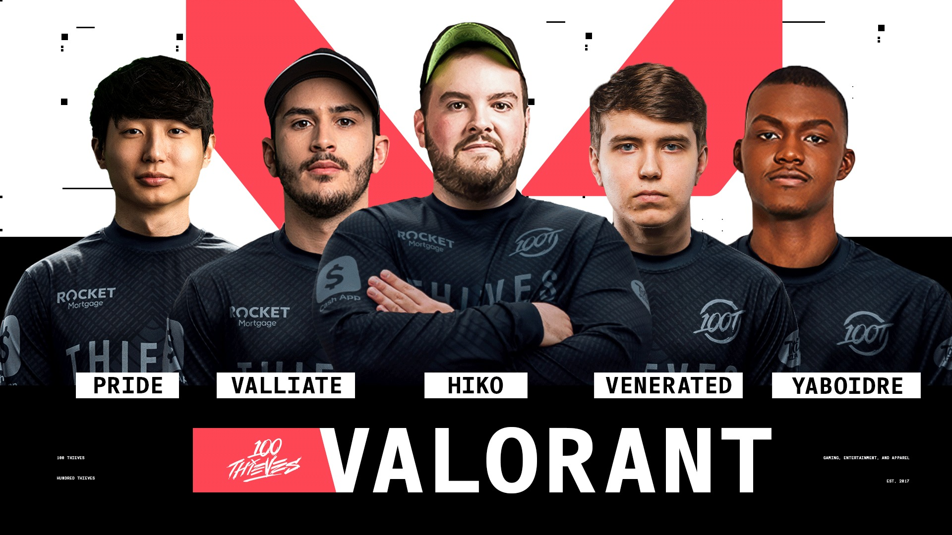 roster valorant 100 thieves