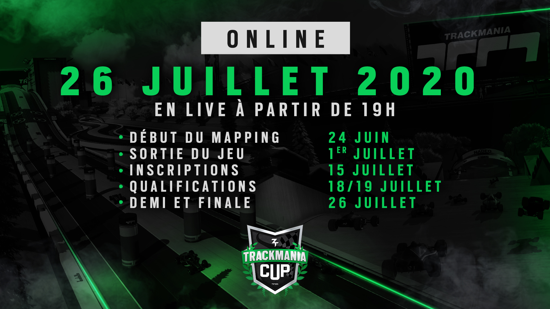 trackmania cup online