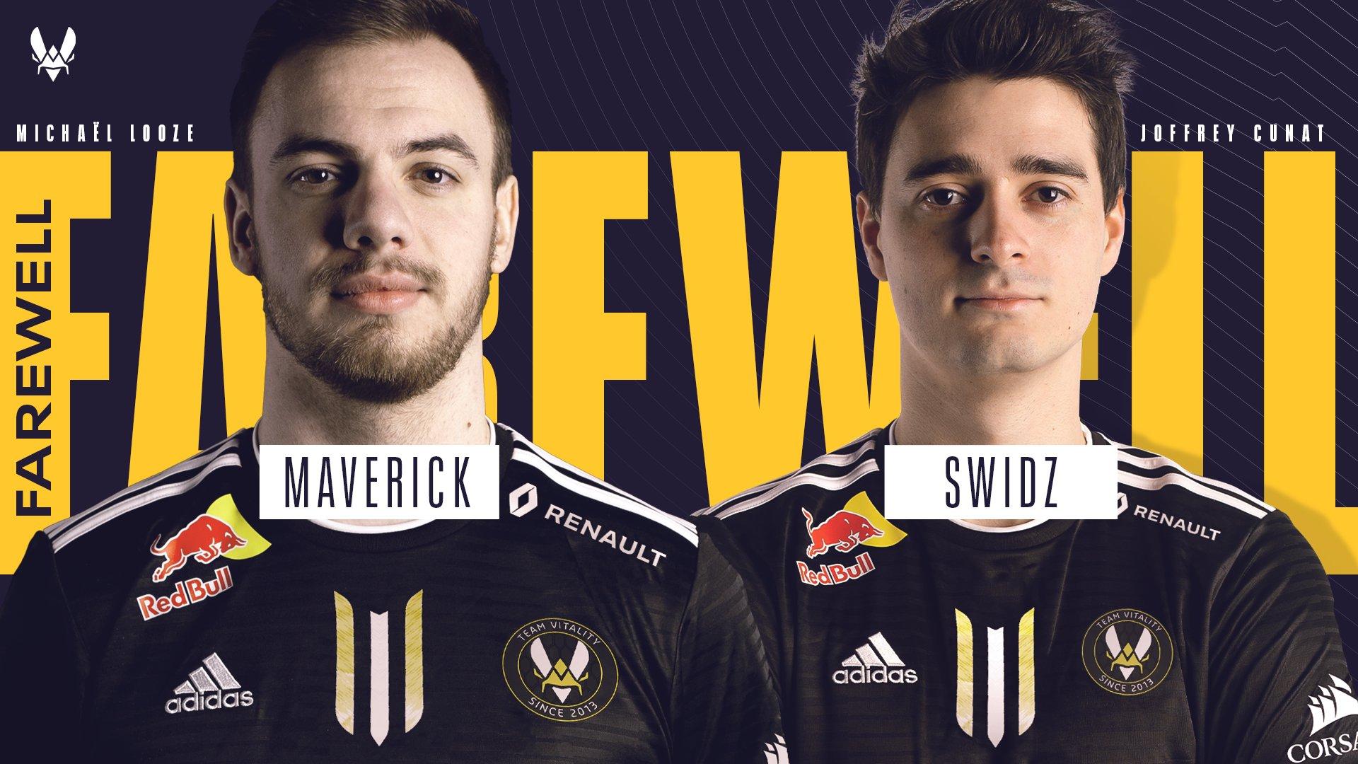 maverick et swidz quittent team vitality