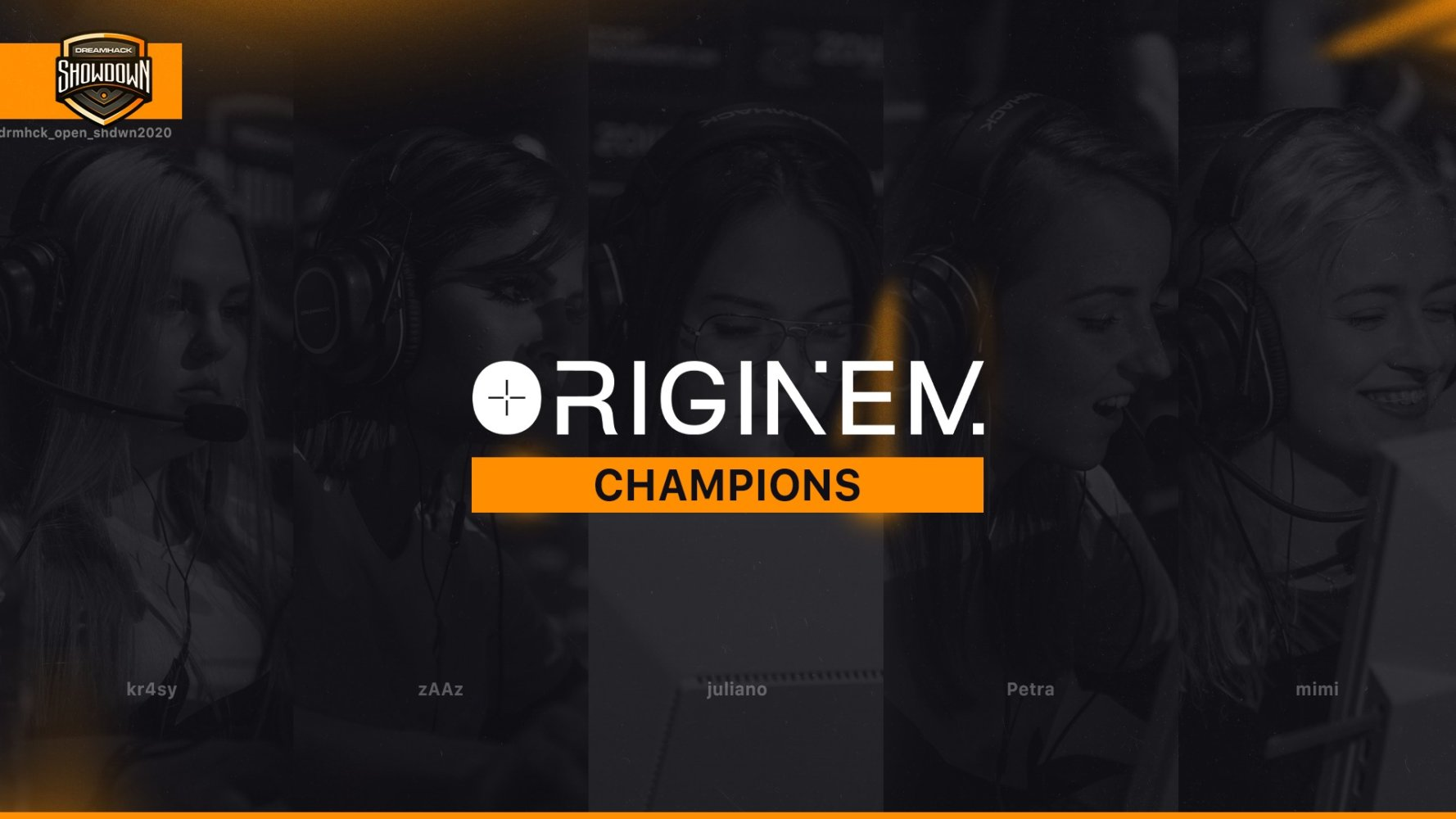 team originem remporte la dramhack showdown summer