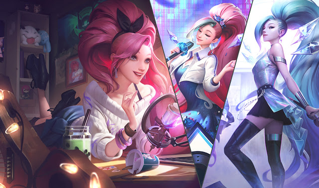 kda all out seraphine