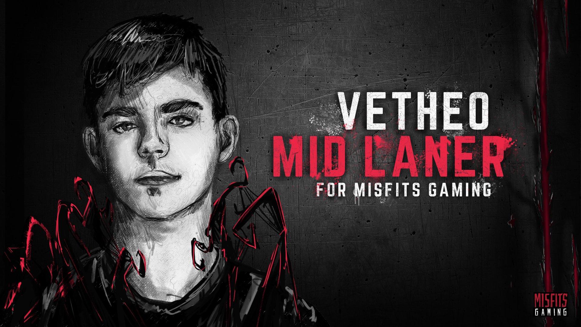 vetheo misfits gaming
