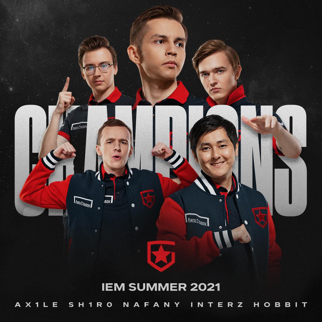 gambit champions iem summer 2021