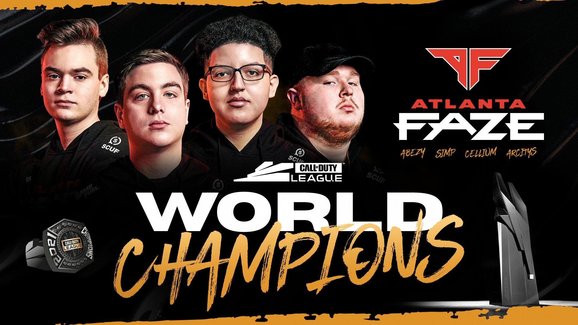 faze clan champions du monde